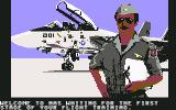 F-14 Tomcat Commodore 64 The beginning of our flight training