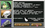 Overlord Commodore 64 Select opponent