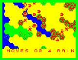 Kriegspiel Dragon 32/64 The weather changes over the course of the game