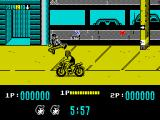 Target: Renegade ZX Spectrum Let's kick the mounted cyclist off his bike