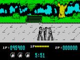 Target: Renegade ZX Spectrum Trying to make some friends in the park