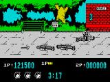 Target: Renegade ZX Spectrum Beating unconscious punk on the ground