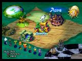 Legend of Mana PlayStation Game Map: Place Artifacts down on a glowing spot and it will become a location.