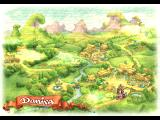 Legend of Mana PlayStation Map of Domina