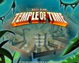 Billy Blade: Temple of Time Windows Title Screen