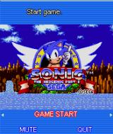 Sonic the Hedgehog Part 2 J2ME Title screen