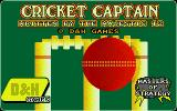 Cricket Captain Atari ST This is, er, cricket?