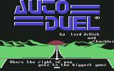 Autoduel Commodore 64 Title screen