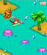 Tropical Madness J2ME Bonus level 2 with a board.