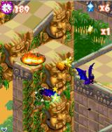 Tropical Madness J2ME You can cross gaps by attacking multiple enemies at once.