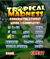 Tropical Madness J2ME Level complete