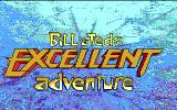 Bill & Ted's Excellent Adventure DOS title screen - EGA