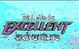 Bill & Ted's Excellent Adventure DOS title screen - CGA