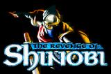 The Revenge of Shinobi Game Boy Advance Title screen