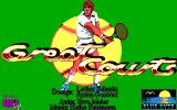 Jimmy Connors Pro Tennis Tour DOS Great Courts title screen
