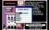 Where in Europe is Carmen Sandiego? DOS Use the Notebook to keep a record of the Character Clues you have found
