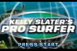 Tony Hawk's Underground & Kelly Slater's Pro Surfer Game Boy Advance Title screen (Kelly Slater's Pro Surfer).