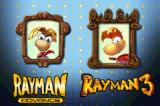 Rayman: 10th Anniversary Game Boy Advance Game selection.