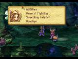 Legend of Mana PlayStation Talk to Duelle for tips and info on fighting.