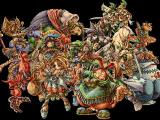 Legend of Mana PlayStation A shot of all characters in the game