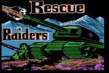 Rescue Raiders Apple II Title screen.
