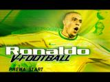 Ronaldo V-Football PlayStation Title screen