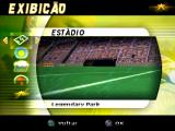 Ronaldo V-Football PlayStation Stadium and match options.