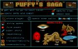 Puffy's Saga Atari ST What does what