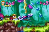 Rayman: 10th Anniversary Game Boy Advance Surrounded by two Anti-Toons, Rayman meets itself in a little-big trouble!