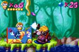 "Rayman: 10th Anniversary Game Boy Advance Rayman takes a time with The Photographer: he is the ""middle-point"" stage."