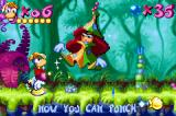 Rayman: 10th Anniversary Game Boy Advance Thanks to Betilla the Fairy, Rayman will be powered-up with different abilities!