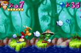 Rayman: 10th Anniversary Game Boy Advance Rayman must punch-beat a Small Livingstone in his way: and he is about to get it!