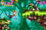 Rayman: 10th Anniversary Game Boy Advance Could Rayman able to lose the balance in a full-enemy place? This is a bad time to it...