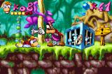 Rayman: 10th Anniversary Game Boy Advance Before to free some Electoons, Rayman must escape successfully from Hunter's gun...