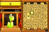 Bookworm Deluxe Game Boy Advance Forming the word BIT.