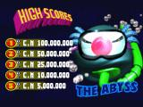 Psycho Pinball DOS Default scores for The Abyss