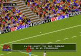 Rugby World Cup 95 Genesis The ball's been kicked into touch