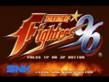 The King of Fighters '96 PlayStation Title screen