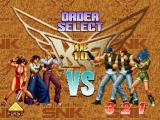 The King of Fighters '96 PlayStation Order selection