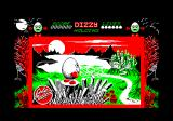 Dizzy: The Ultimate Cartoon Adventure Amstrad CPC Title screen.