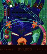 Psycho Pinball DOS Middle portion of The Abyss