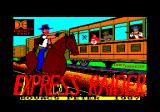 Express Raider Amstrad CPC Title screen