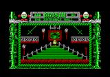 Fantasy World Dizzy Amstrad CPC There is a Treasure Island Dizzy poster on the wall.