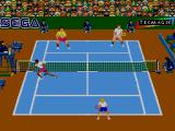 Andre Agassi Tennis SEGA Master System Net action Indoors
