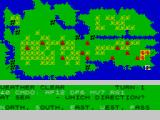 Falklands 82 ZX Spectrum Moving a ship