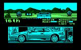 Lotus Esprit Turbo Challenge Amstrad CPC Note the Lotus roadsigns