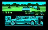 Lotus Esprit Turbo Challenge Amstrad CPC Near the goal