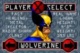 X-Men: Reign of Apocalypse Game Boy Advance You can choose between four heroes with different abilities.