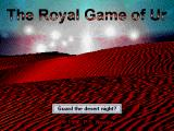 The Royal Game of Ur Windows Title screen