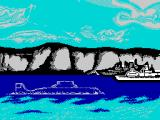 The Hunt for Red October ZX Spectrum Intro sequence